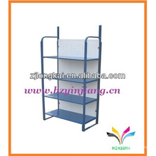 robuste blaue gravity feed wire counter auto ersatzteile display rack