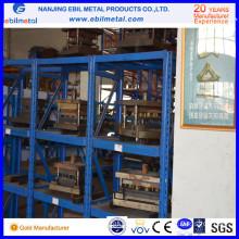 Industry & Factory Warehouse Storage Metallic Drawer Racking / Mould Rack