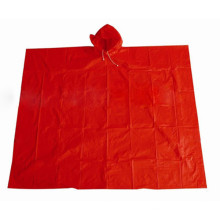 PVC Waterproof Adult Rain Cape for Outdoor Cycling