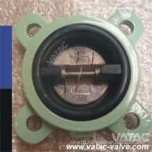 Cast Steel Metal Seat Butterfly Check Valve