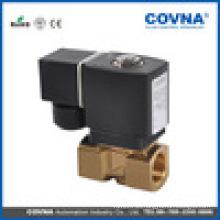 Electroválvula piloto de latón con varios medios para alta presión