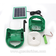 Bright Solar Powered House lights Wireless Charging