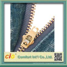 #4 Brass Zipper Yg Teeth