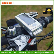 Solar Rechargeable LED Bicycle Safety Rear Light