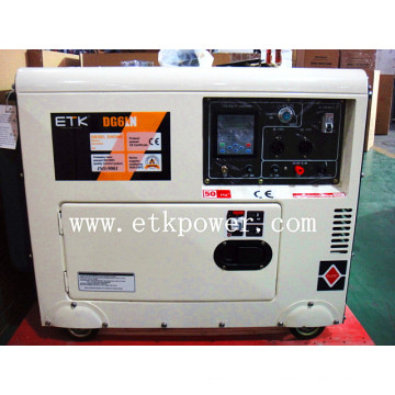 2014 New White Silent Generator Set -Dg6ln
