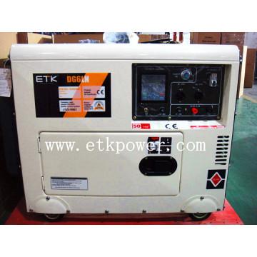 2014 Новый белый бесшумный генераторный комплект -Dg6ln