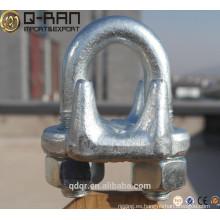 U.S.type gota forjó clips de cuerda de alambre galvanizada de rigging