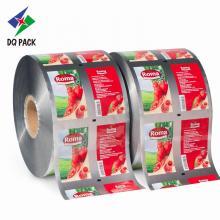 Estoque de rolo de plástico DQ PACK para embalagem de alimentos