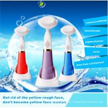 Nuevo diseño eléctrico lavado de cara cepillo con el cepillo Facial de Ce