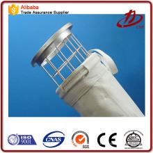 Sacos de filtro de colector de polvo de fieltro de aguja