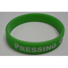 2016 Fashion Bracelet Debossed or Embossed Silicone Wrist Bands