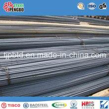 Barra de acero deformado reforzado con material de acero