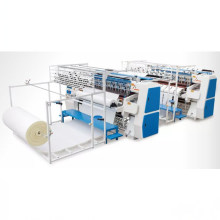 Quilting Technology of Cotton Quilt and Down Jacket Computer Single Needle Industrial Quilting Machine