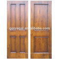 100% solid wood panel door design for interior room