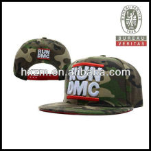 3D Embroidery 100% Acrylic Fitted Cap Camo Snapback Hats