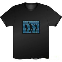 led flashing t shirts