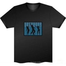 мигающие футболки Сид