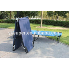 2015 Hot selling outdoor Furniture Fabric Metal folding Camping Bed