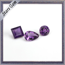 Clear Purple Natural Semi Precious Amethyst Gemstone for Jewellery