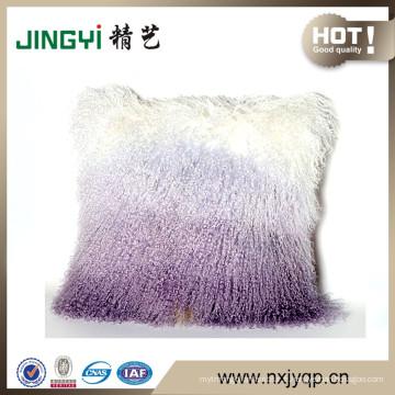 Wholesale pur Tibet agneau fourrure Coussins