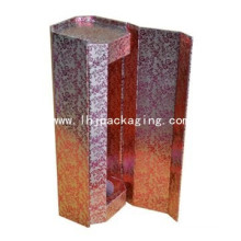 Luxury Paper Packaging Gift Round Wine Box