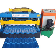 Bamboo glazed roll forming machine