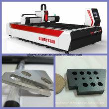 Máquina de corte a laser Glorystar Ipg1000W de fibra de metal GS-3015