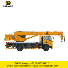 Dongfeng Chassis Mobile Lifting Machine en el camión