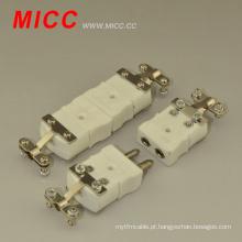 Conector de termopar de cerâmica MICC / conector termopar