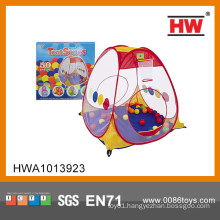 Top sale indoor kids tent camping set with ball