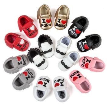 Infant Toddler Prewalker 0-1 Years Anti-Slip Moccasins Baby Shoes