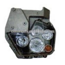 Piezas de camión chino HOWO HEAD LAMP WG9925720001 / 99257200 024 camiones usados