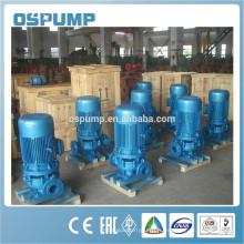 Pompe verticale de tuyau d'eaux d'égout de fonte