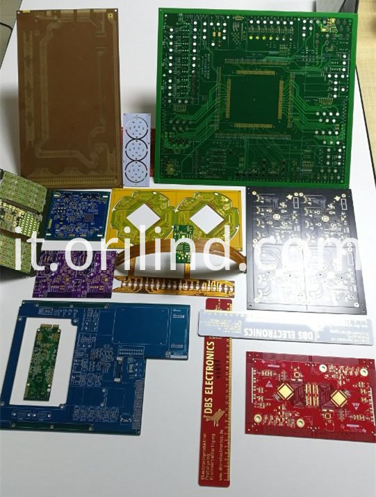 Different colors pcb board