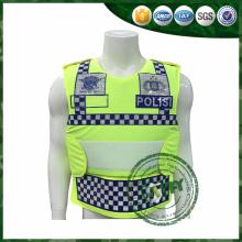 Verkehrspolizei reflektierende ballistische Jacke