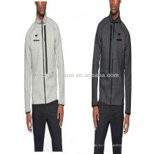 Двуличный 2014 мужская флисовая спортивная куртка, износ рельсов