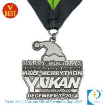 Custom Cheap Stamping Sport Running Half Marathon Medal Medallion