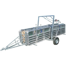 Livestock Equipment Portable Sheepyards With Trailer Single Axle