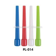 Dicas de boca plástico colorido do cachimbo de água