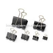Fashion High Quality Metal Binder Clip Black