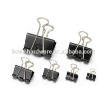Мода высокого качества Металл Binder Clip Черный