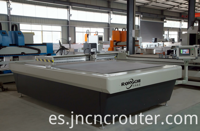 cnc router oscillating knife leather cutting machine