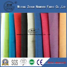 Tissu non tissé à base d'imperméable à l'eau utilisé pour le tissu de table