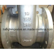 150lb API Válvula de compuerta de extremo de brida con acero inoxidable RF