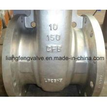 Válvula de extremidade de flange API de 150 lb com aço inoxidável RF