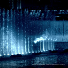fountains with led lights