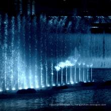 фонтаны со светодиодными огнями