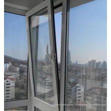 Powder Coated Aluminum Tilt Turn Window with