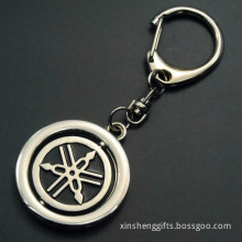 Hot Custom Metal Rotate Key Chain Attachment Keyring (XS-009)