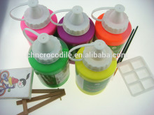 500ml fluorescent wall paint, bright colour acrylic paint, fast drying acrylic paint, EN71-3,EN71-9